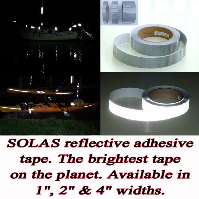 solas reflective kayak canoe marine tape